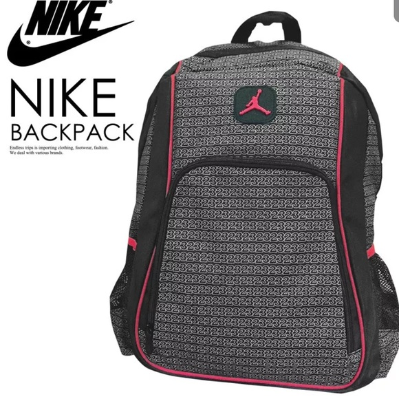 9cf29b8dc2ba Nike Jordan unisex laptop school backpack